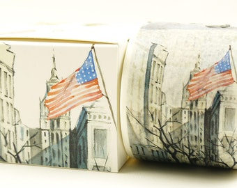 USA - Japanese Washi Masking Tape - 40mm wide - 7.6 yard