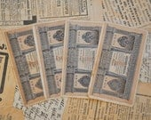 Set of 4 Antique Imperial Russia paper banknotes.1 ruble.
