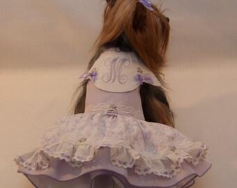 Made for Maddie Lavender Eyelet Dress