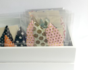 Handmade Feathers - Bulk Craft Supplies || Washi Tape Feathers