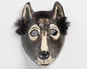 New Year dog paper mask