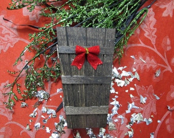 50% OFF SALE Holiday Wood Coffin Gift Box