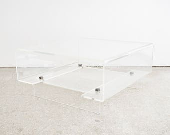 Mid Century Lucite Coffee Table