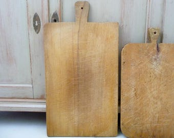 Antique French Cutting Board, Chopping Block Board, French Cutting Board, Country Kitchen, French Serving Tray