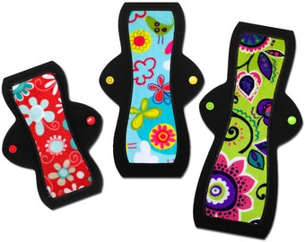 "Cloth Pad Starter Set - Medium (8"" Light, 10"" Moderate, 12"" Heavy)"