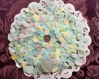 FREE Shipping Rough Pastel & UV small, medium Large Sea Glass  RP-F6-B