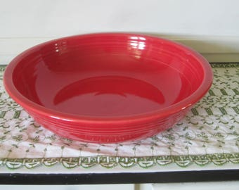 Fiesta Bistro Bowl Scarlet Red Pasta Spaghetti Server
