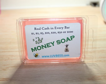 Money Soap   *5.00 Custom Cash*