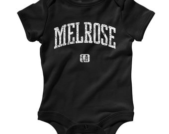 Baby One Piece - Melrose Los Angeles - Infant Romper - NB 6m 12m 18m 24m - Baby Shower Gift, Melrose Baby, Melrose Avenue, West Hollywood CA