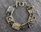 Tintype Bracelet, antique...