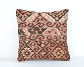 Kilim pillow cover, kp1747, Kilim Pillow, Turkish Pillow, Kilim Cushions, Kilim, Moroccan Pillow, Bohemian Pillow, Turkish Kilim