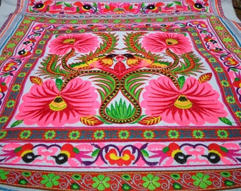 Hmong Design Embroidered Textile