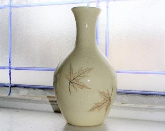 Nemadji Pottery Forest Impressions Vase Vintage Handmade