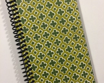 Recycled Book Spiral Bound Notebook or Journal Reader's Digest 1974