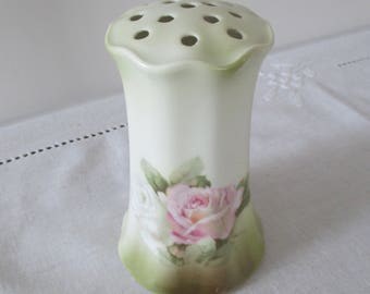 Vintage Hat Pin Holder - R.S. Germany Hat Pin Holder - Porcelain Hat Pin Holder