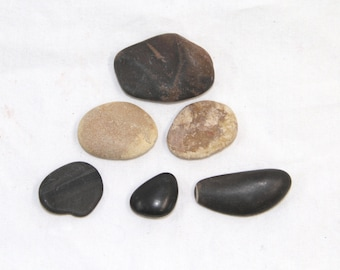 Flat Rock Set - Vintage Rock Collection - Crafting - Jewelry Making