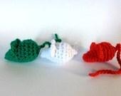 Xmas Mice Cat Toy SeT