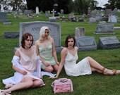 Vintage Light Pastel Pink Lingerie/Slip by Chantilly Maidenform, Size Medium