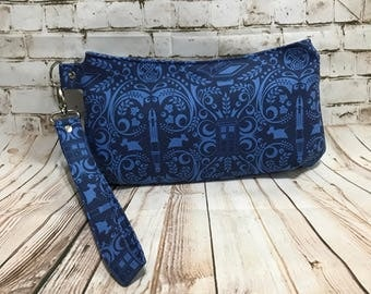 doctor who inspired the doctors favorite things Clutch Style bag