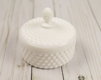 Vintage 1950s Milk Glass Candy Dish Imperial Glass