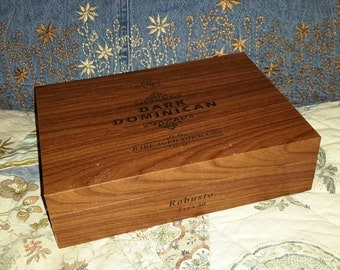 Cigar Box Dark Dominican Two in Stock by IndustrialPlanet