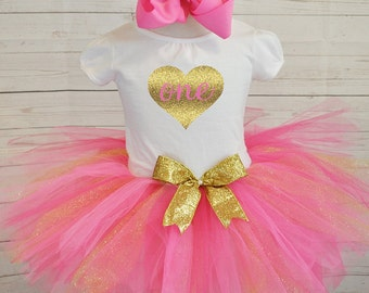 birthday outfit, FREE SHIPPING birthday outfit,birthday girl outfit, birthday tutu,hot pink tutu,girl birthday outfit. Pinktutu