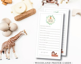 Woodland Prayer Wish Cards