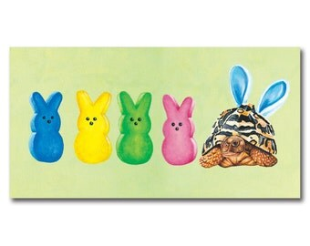 Hanging with My Peeps print by Alicia Wishart