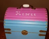 20% OFF NOW! Medium Mermaid Box, Treasure Chest -Hand Painted, Choose your colors, Have Personalized!
