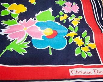 Christian Dior Cotton Scarf