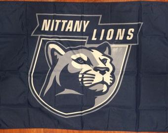 Penn State Nittany Lions 3 X 5 Feet Flag Banner NCAA College University Fan
