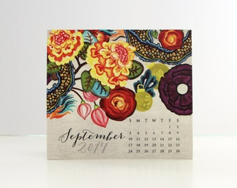 August 2017 - January 2018 Classic Calendar, PAGES Only
