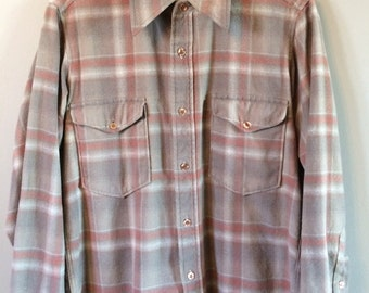 Men's Vintage Pendleton Flannel Shirt