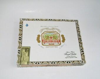 Vintage Cigar Box Arturo Fuente Spanish Imported Cigars