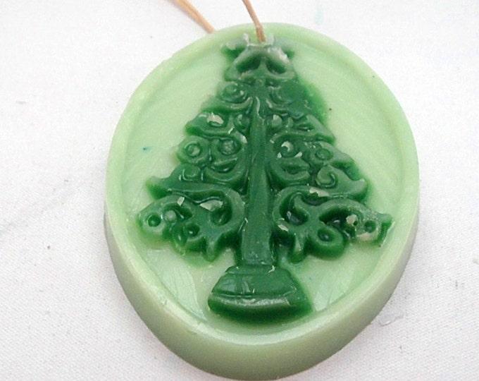 Christmas Tree Beeswax Ornament