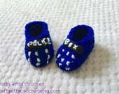 Custom Listing - TARDIS Inspired Doctor Who Baby Set - Hat, Booties, and Cocoon - Newborn Size