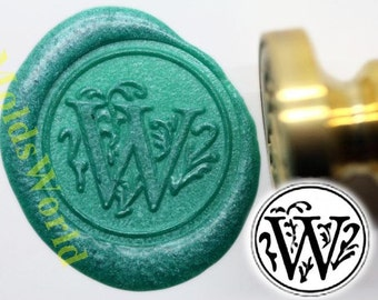 S1139 Alphabet Letter W  Wax Seal Stamp , Sealing wax stamp, wax stamp, sealing stamp