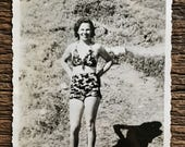 Original Vintage Photograph Betty's Bikini