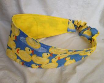 Rubber Ducky Reversible Headband