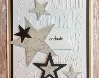 congratulations card,celebration card,graduation card,high school graduation card,college graduation card, congrats card,accomplishment card