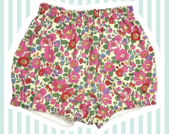 Liberty of London Bubble Shorts | Mini Bloomers for Baby | Betsy