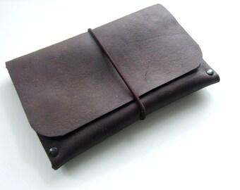 Leather Passport Holder,  Passport Cover, Passport Sleeve, Handmade in UK