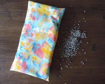 Floral Watercolour Lavender Yoga Eye Pillow
