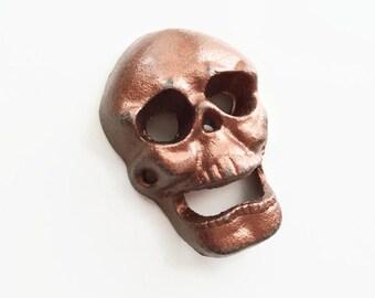 Cast Iron Skull Etsy