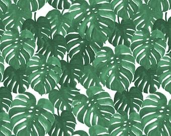 Crib Skirt Monstera Palm. Baby Bedding. Crib Bedding. Crib Skirt Boy. Baby Boy Nursery. Palm Crib Skirt. Green Crib Skirt.