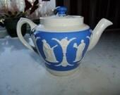 Vintage Antique Dudson Jasper ware teapot - 19th Century - Dudson Bros Hanley England