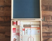 Letter Writing Set with Wooden Box, Letter Writing Kit, Assorted Stationery Items - Great Friend Gift [Item 6-10]