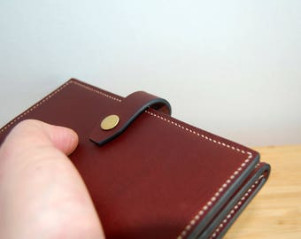 Auburn Long Wallet - Handsitched Leather Wallet