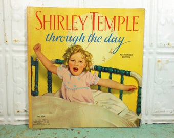 Vintage 1936 Shirley Temple Through the Day Book