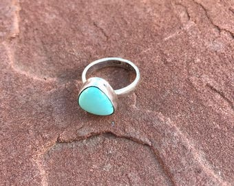 Turquoise Ring (sterling silver)